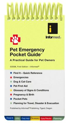 Pet Emergency Pocket Guide: A Practical Guide for Pet Owners