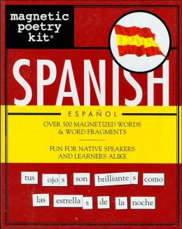 Magnetic Poetry Kit: Spanish