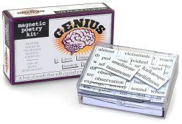 Magnetic Poetry Kit (Genius Edition)