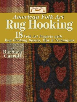 Woolley Fox American Folk Art Rug Hooking