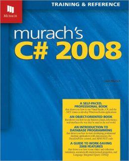 Murach's C# 2008