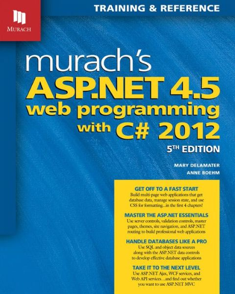 Murach's ASP.NET 4.5 Web Programming with C# 2012