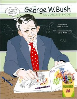 George W. Bush Coloring Book