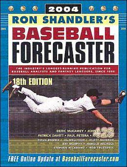 Ron Shandler's Baseball Forecaster 2004