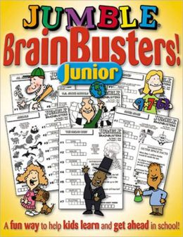 Jumble Brain Busters for Kids: Because Learning Can Be Fun!