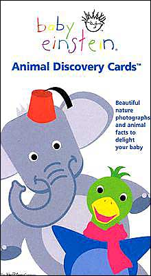 Baby Einstein: Animal Discovery Cards: Beautiful Nature Photographs and Animal Facts to Delight Your Tots