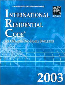 International Residential Code 2003