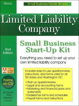 Limited Liability Company: Small Business Start-Up Kit (Small Business Made Simple)