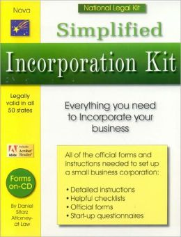 Simplified Incorporation Kit
