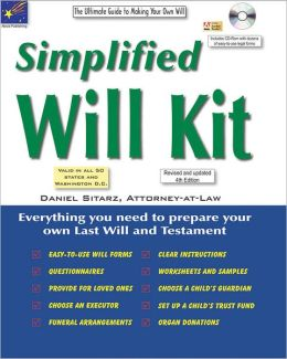 Simplified Will Kit: The Ultimate Guide to Making a Will