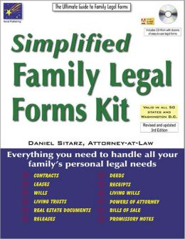 Simplified Family Legal Forms Kit: The Ultimate Guide to Family Legal Forms