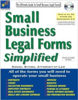 Small Business Legal Forms Simplified: The Ultimate Guide to Business Legal Forms
