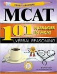 Book Cover Image. Title: Examkrackers 101 Passages in MCAT Verbal Reasoning, Author: David Orsay