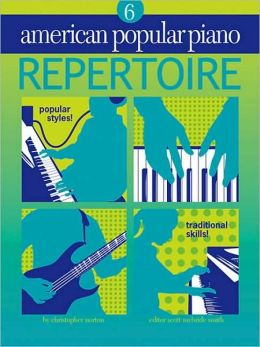 American Popular Piano: Repertoire Level 6