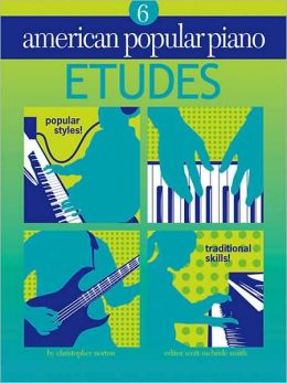 American Popular Piano: Etudes Level 6