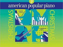 American Popular Piano - Christmas: Preparatory Level