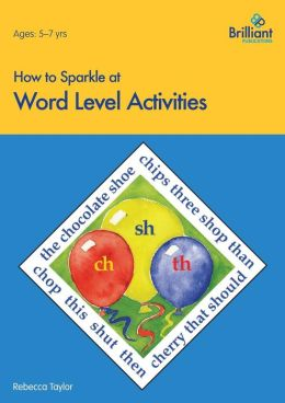 How to Sparkle at Word Level Activities