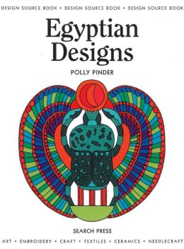 Egyptian Designs: Design Source Book, #9