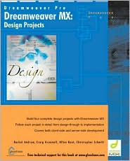 Dreamweaver MX: design Projects