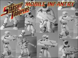 Starship Troopers Miniatures Game: The Mobile Infantry Army, Book