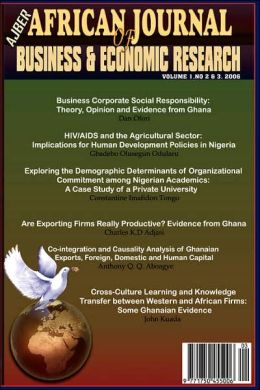 African Journal Of Business And Economic Research Vols 2&3, 2006