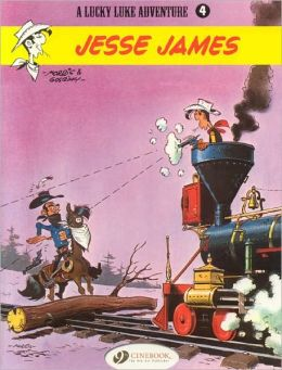 Jesse James (Lucky Luke Adventure Series #4)