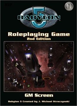 Babylon 5 RPG Cold Equation and Game Masters Screen