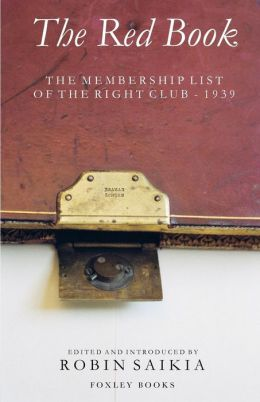 The Red Book - The Membership List of the Right Club - 1939