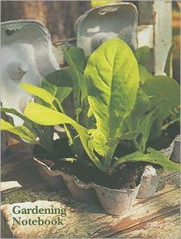 Gardening Themed Mini Notebook
