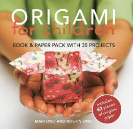 Origami for Children Book & Paper Pack