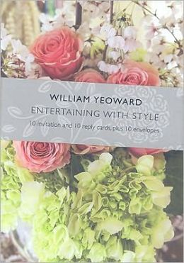 William Yeoward Entertaining with Style (Invitations)
