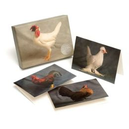 Beautiful Chickens Notecard Set