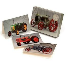 Beautiful Tractors Notecard Set