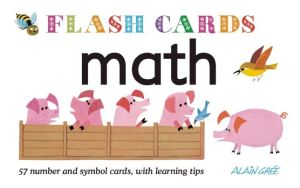 Math - Flash Cards: 57 number and symbol cards, with learning tips