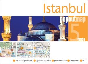 Istanbul PopOut Map: Handy, pocket-size, pop-up map for Istanbul