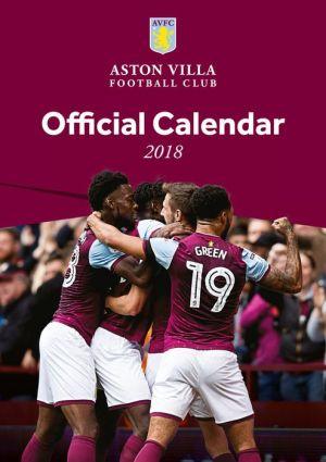 Book The Official Aston Villa Calendar 2019