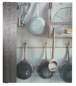 Large Recipe Journal-Kitchen Utensils