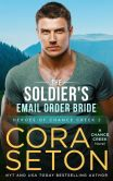 Book Cover Image. Title: The Soldier's E-Mail Order Bride (Heroes of Chance Creek, #2), Author: Cora Seton