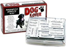 Dog Lover Magnetic Poetry Kit