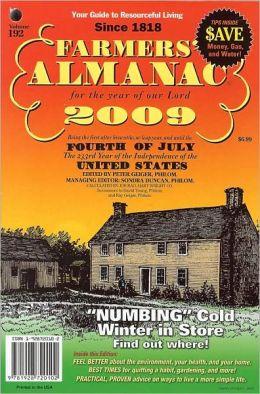 Farmers' Almanac 2009