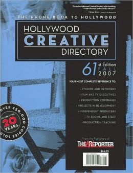 Hollywood Creative Directory, 61st Edition