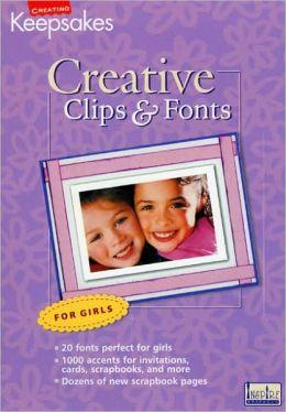 CD Clips & Fonts Girls