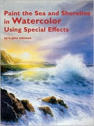 Paint the Sea and Shoreline in Watercolors Using Special Effects