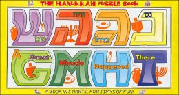 Hanukkah Puzzle Book: A Great Miracle Happened There - GMHT