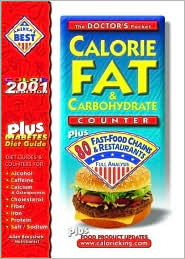 Doctor's Pocket Calorie, Fat and Carbohydrate Counter 2000: Plus 80 Fast-Food Chains and Restaurants