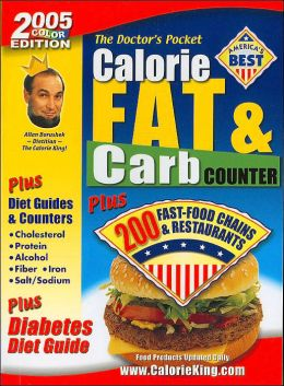 The Doctor's Pocket Calorie, Fat & Carbohydrate Counter