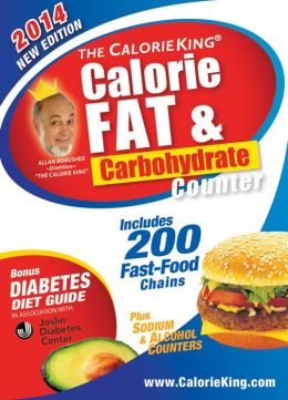 The CalorieKing Calorie, Fat & Carbohydrate Counter 2014: Pocket-Size Edition