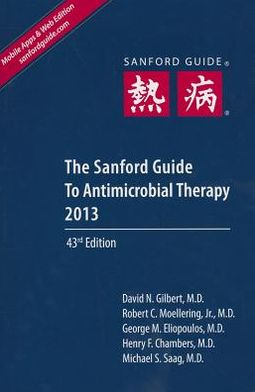 Sanford Guide to Antimicrobial Therapy 2013 (Library Edition)