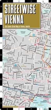 Streetwise Vienna Map - Laminated City Center Street Map of Vienna, Austria - Folding Pocket Size Travel Map With Metro (2015)