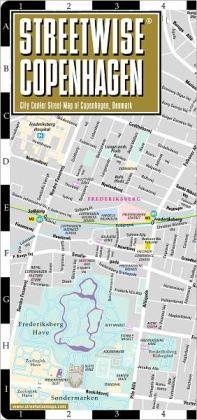 Streetwise Copenhagen Map - Laminated City Center Street Map of Copenhagen, Denmark - Folding Pocket Size Travel Map (2013)